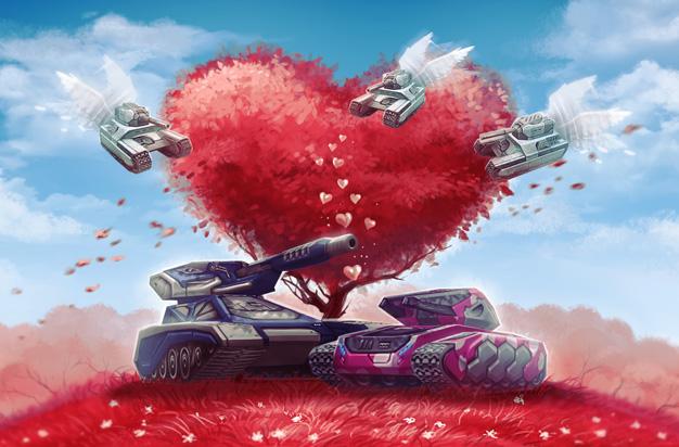 Valentine\'s Day in Tanki Online - News Archive - Tanki Online Forum
