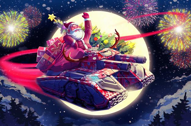 Tanki Online Christmas Bundle 2020 New Year in Tanki Online