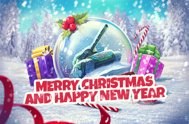 Tanki Online Christmas Bundle 2020 New Year's Celebrations continue!
