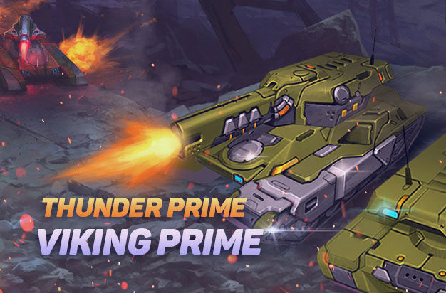 The Re Designed Viking Thunder Prime Is Here Tanki Online Free Mmo Game