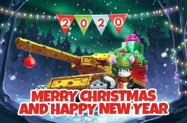 Tanki Online Christmas Bundle 2020 Blast into 2020 with Tanki Online